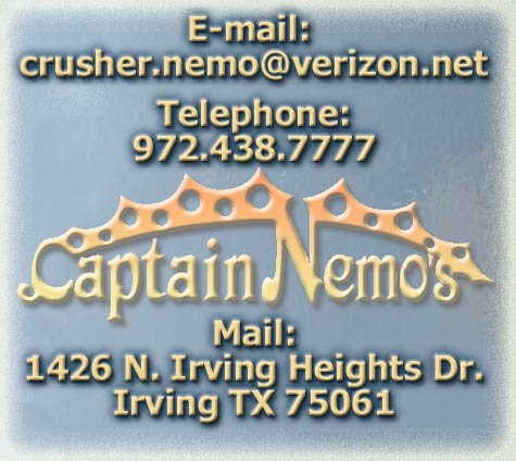Captain Nemo's Delicious Steak Submarines - Contact Us